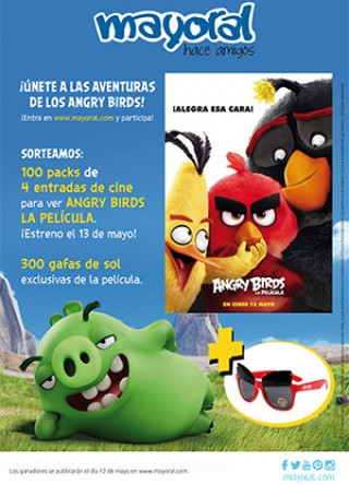 Angry Birds con Mayoral
