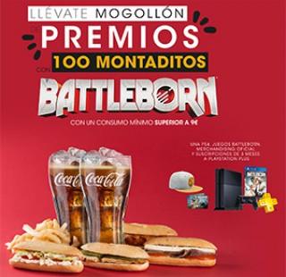 BATTLEBORN Y 100 MONTADITOS