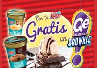Qé American Brownie (Panrico) y Kalise