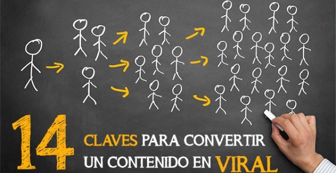 14 claves para convertir un contenido en viral